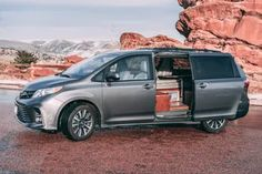 Toyota Sienna camper sleeps two for $8.5K - Curbed