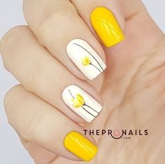 """The yellow glistens. It glistens with various yellows, Citrons, oranges and greens Flowering over the skin."" #summer #yellow #nails"