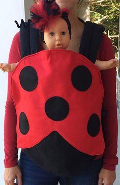 Ladybug Halloween Costume for Baby Carriers Lillebaby Ergo