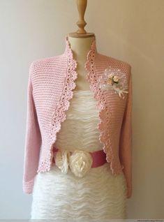 | Modelos de chalecos para bebés | Irish Crochet, Crochet Lace, Knitting Patterns, Crochet Patterns, Irish Lace, Crochet Blouse, Crochet Clothes, Womens Fashion, Sweaters