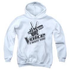 The Voice/One Color Logo - White
