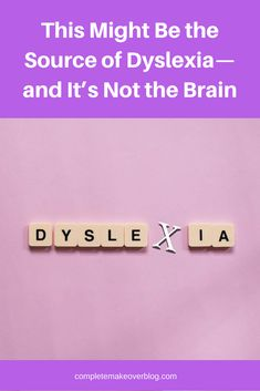 Dyslexia, a disorder causes a general difficulty in reading, pronouncing, and putting meanings to words, affects somewhere between 5 to 17 percent of the population.