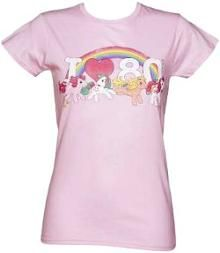 """My Little Pony themed """"I Love The 80s"""" pink T-shirt"""