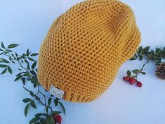 FIAhandmade / Čiapka horčicová Knitted Hats, Crochet Hats, Knitting, Fashion, Knitting Hats, Moda, Tricot, Fashion Styles, Breien