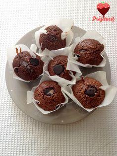 Brioșe cu bucăți de ciocolată Muffin, Breakfast, Food, Morning Coffee, Essen, Muffins, Meals, Cupcakes, Yemek