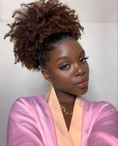 Natural Hair Inspiration, Natural Hair Tips, Natural Hair Journey, Natural Hair Styles, Dark Skin Makeup, Hair Makeup, Beauty Skin, Hair Beauty, Divas