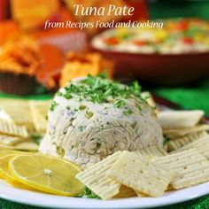 Tuna Pate for the Big Game Day! Recipes Food and Cooking - Walmart Recipes - Ideas of Walmart Recipes - Tuna Pate for the Big Game Day made with tuna roasted almonds and butter! Serve with the Cheez-It Sharp White Cheddar Grooves. Recipes Food and Cooking How To Cook Tuna, How To Cook Asparagus, Pate Recipes, Cooking Recipes, Cooking Games, No Cook Appetizers, Appetizer Recipes, Antipasto, Walmart Recipes