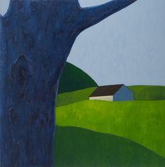Scott Redden : Paintings : 2006-2008 : Purple Tree