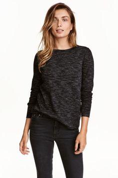 Меланжирана блуза | H&M