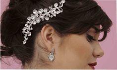 TOCADOS PARA NOVIA Y FIESTA - Tocados de novia, flores, tiaras, horquillas, lazos, complementos de boda.