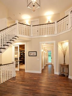 Love the stairs and layout