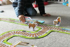 Review: Orchard Toys Giant Railway & Colouring Books - Orchard Toys review toys
