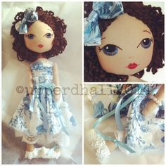 Handcrafted art doll by Upper Dhali