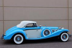 1936 Mercedes-Benz 540K 2 Door Convertible Roadster