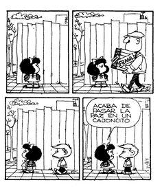 Mafalda Mafalda Quotes, Comics Toons, Lucky Luke, Snoopy, Argentine, Spanish Humor, Inspirational Phrases, Humor Grafico, Classic Cartoons