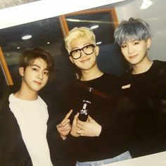 Jin , Rapmon and Suga | Cuties <3