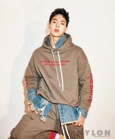 """(MAGAZINE) MONSTA X Shownu for Nylon (January Issue) Read full article on Nylon"""