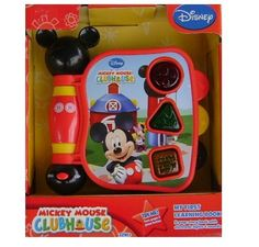 $14.86 Mickey Mouse Clubhouse, Mickeys My First Learning Book Lights and Sounds. Mickeys My First Learning Book