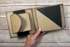 Unique Square Envelope Mini Album Tutorial