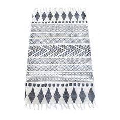 Block tæppe fra House Doctor. Et tæppe som bliver en flot detalje i dit hjem. Fremstillet ...