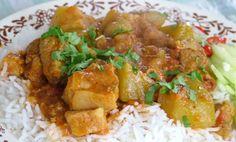 cari chouchou  choko curry