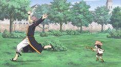 Natsu and Asuka | Fairy Tail