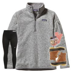 """Had a lazy day.... and it was GREAT!!!"" by sassysouthernprep99 ❤ liked on Polyvore featuring Patagonia, NIKE, L.L.Bean, J.Crew, Vera Bradley, Kendra Scott, tarte and Kim Rogers"
