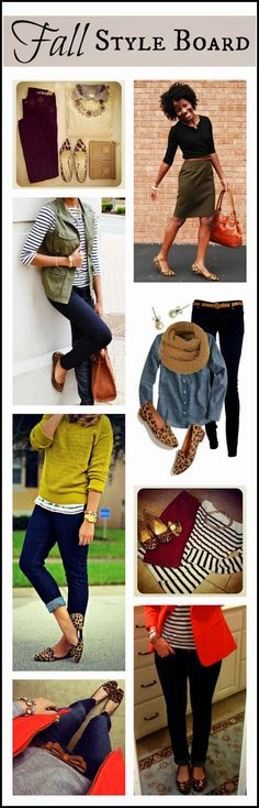 My New Favorite Outfit: Fall Essential: Leopard Flats & other fun fall wardrobe additions