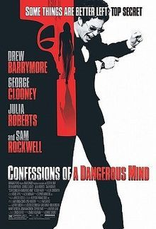"""This much is true: Sam Rockwell plays Chuck Barris, producer of game shows in the 60s and 70s (especially """"The Gong Show""""), directed by actor George Clooney. This much...based on Barris' book: The producer is also an assassin for a CIA goon (Clooney)."""
