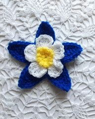 Maggie's Crochet: Free Columbine Crochet Pattern plus RIGHT AND LEFT HANDED video tutorials by Carol Ballard.
