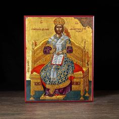 Christ Enthroned Icon - X103 - Legacy Icons