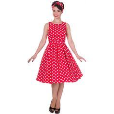 8526195f80e Šaty Dolly and Dotty Annie White Polka Puntíkaté krásky