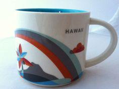 Starbucks Hawaii You Are Here Collection Diamond Head Coffee Mug Cup 2012 #Starbucks