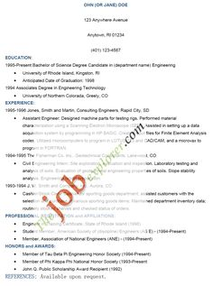 Job Proposal Letter Objective For Resume For High School Studentfree Resume  Httpwww .