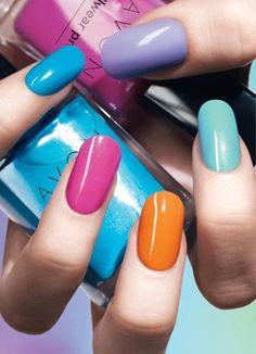 I love Avon nail polish . Avon Nail Polish, Avon Nails, Nail Designs 2014, Nail Store, Acrylic Nail Shapes, Almond Acrylic Nails, Sparkly Nails, Flower Nails, Perfect Nails