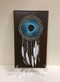 Dreamcatcher Nail String Art by CustomsByCristina on Etsy