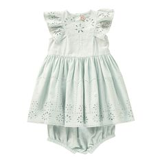 Sundae Broderie Anglaise Dress + Bloomers Stella McCartney Kids Baby- A large selection of Fashion on Smallable, the Family Concept Store - More than 600