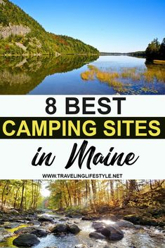 Maine is well known for its natural beauty. Explore the beauty of maine in this summer with these best camping sites in Maine. Camping Spots, Camping Ideas, Camping Hacks, Best Summer Camps, Best Places To Camp, Us Road Trip, Recreational Activities, Canoe And Kayak, Boat Rental