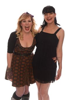 Kirsten Vangness from Criminal Minds and Pauley Perrette from NCIS: these two ladies make their shows more humane and less killer/ gory. Lov'em both!!
