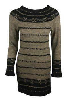 Le Phare de la Baleine Womens Black Mocha Striped LS Sweater Dress S Le Phare de la Baleine,http://www.amazon.com/dp/B00C7DK6WK/ref=cm_sw_r_pi_dp_Ld-hsb0NQK6YDNHY