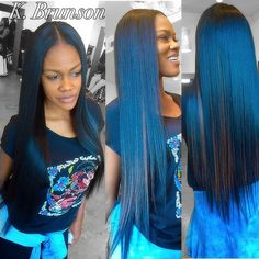 Quality virgin human hair & extensions trusted & recommended by stylists, and backed by the only return policy in the industry. Try Mayvenn hair today! Indian Hairstyles, Weave Hairstyles, Pretty Hairstyles, Straight Hairstyles, Black Hairstyles, Virgin Hair Extensions, Weave Extensions, Virgin Indian Hair, Loose Waves Hair
