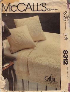 Vintage McCall's 8312 Candlewicking Pattern
