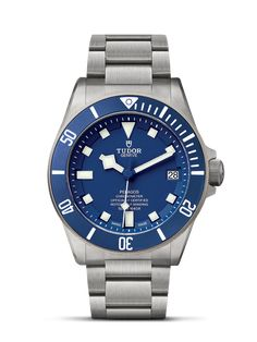 Discover the Tudor Pelagos, the ultimate mechanical divers' watch waterproof to 500 metres, at Razny Jewelers Rolex Oyster Perpetual, Green Beret, Omega Seamaster, Rolex Datejust, Tudor Black Bay Blue, Cool Watches, Watches For Men, Black Watches, Die Tudors