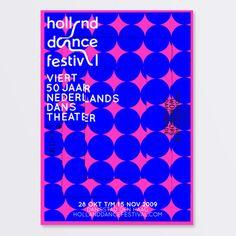 Holland Dance Festival 2009 by SILO - WE LOVE BRANDS , via Behance