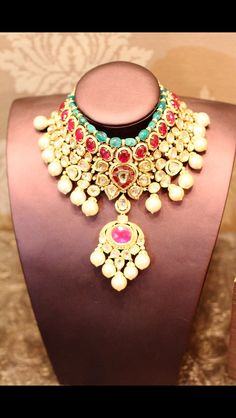 Indian jewelry- loved & pinned by www.omved.com