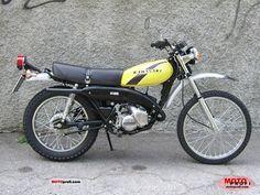 kawasaki ke 125 1977 kawasaki