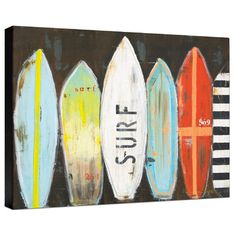 Surfboard Canvas Bed Bath And Beyond