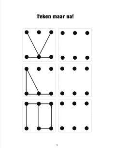 Natekenen van figuren 3