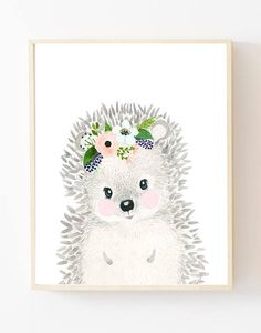 Baby animal : hedgeh