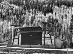 Telluride Town Park Stage.... Just add music!